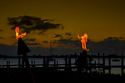 Isla Morada Prints - Dancing Flames Print by Rene Triay Photography