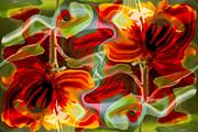 Dancing Flowers Print by Omaste Witkowski