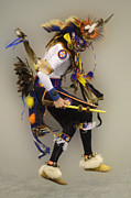 Pow Wow Metal Prints - Dancing For The Spirit Metal Print by Bob Christopher
