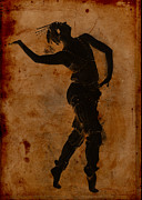 Sarah Vernon Metal Prints - Dancing in Greek Metal Print by Sarah Vernon