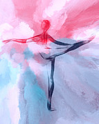 Dancing Girl Art - Dancing in Heaven by Stefan Kuhn