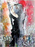 Rock Star Paintings - Dancing In The Moonlight by Brian Buckley