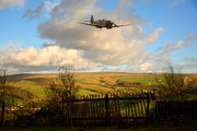 Spitfire Photos - Dancing on the Dales by Jason Green