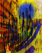 Dandelion Blues Print by Mimulux patricia no