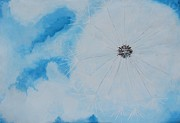 Dandelion Paintings - Dandelion by Pamela Gebler