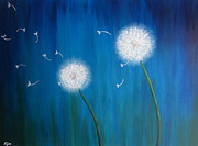 Nikolina Gorisek - Dandelions at night