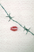 Barbwire Photos - Dangerous Kisses by Joana Kruse