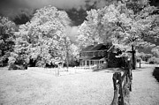 Infrared Framed Prints - Daniel Boone Homestead Framed Print by Paul W Faust -  Impressions of Light