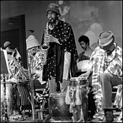 Sun Ra Arkestra Photos - Danny Davis by Lee  Santa