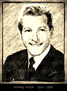 Award Drawings Prints - Danny Kaye Print by George Rossidis