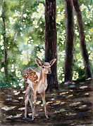Dappled Innocence Print by Mary McCullah