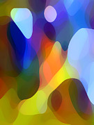 Abstract Movement Metal Prints - Dappled Light Metal Print by Amy Vangsgard