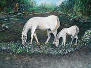 Rhonda Clapprood - Dappled Mare with...