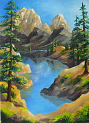 Faa Exclusive Prints - Darby  Cove Print by Shasta Eone