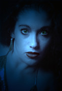 Self-portrait Digital Art - Dark and Mysterious  by Teri Schuster