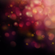 Dark Bokeh Print by Mythja  Photography