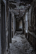 Haunted House Photo Posters - Dark Halls Poster by Margie Hurwich