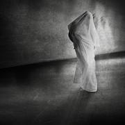 Dark Hallway Print by Erik Brede