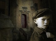 Boy Digital Art - Dark memories by Gun Legler