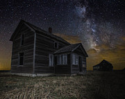 Milkyway Framed Prints - Dark Place Framed Print by Aaron J Groen