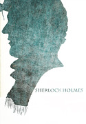 Benedict Framed Prints - Dark Sherlock Holmes Framed Print by Nomad Art And  Design