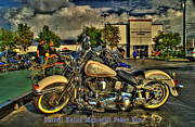 Chip Mixed Media Prints - Darrell Keller Memorial Poker Run Print by Phillip Allen