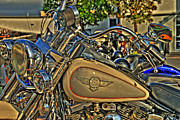 Biker Prints - Darrells Heritage Print by Shaw Photography - PDA Private Collection