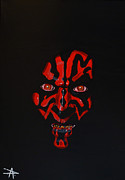 Chewbacca Paintings - Darth Maul by Danny Anderson