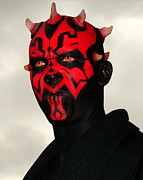 Sith Prints - Darth Maul Print by Ramona Johnston
