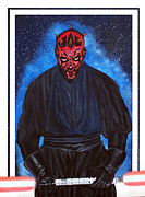 Scott Parker Metal Prints - Darth Maul Metal Print by Scott Parker