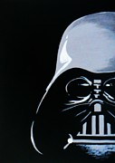 Darth Vader Paintings - Darth Vader by Michelle Pope