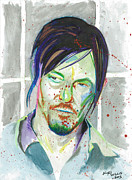 Andrew Michael Framed Prints - Daryl Dixon Framed Print by Kyle Willis
