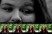 Filmstrip Art - DaughterGrrrl by Bartz Johnson
