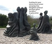 Daughters Of Israel Print by Chaya Rosen