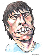 John Ashton Golden - Dave Grohl Caricature