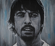 Dave Grohl Paintings - Dave Grohl by David Dunne