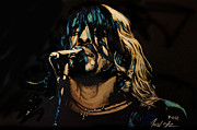 Dave Grohl Paintings - Dave Grohl by Jared  Stone
