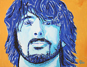 Dave Grohl Paintings - Dave Grohl by John Hooser