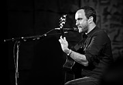 Jennifer Rondinelli Reilly Framed Prints - Dave Matthews on Guitar 7 Framed Print by The  Vault - Jennifer Rondinelli Reilly