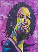 Warhol Drawings Posters - Dave Navarro Poster by Coulter  Young