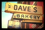 Dave's Bakery Print by Christopher Woods