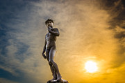 Hand Crafted Art - David at Sunrise by Anthony Morganti