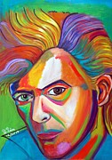 The Dude Paintings - David Bowie by To-Tam Gerwe