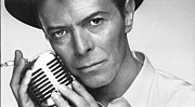 David Photos - David Bowie Vintage Portrait by Sanely Great