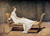 David; Jacques Louis (1748-1825) Metal Prints - David, Jacques-louis 1748-1825. Madame Metal Print by Everett