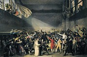 Neo-classical Posters - David, Jacques-louis 1748-1825. Oath Poster by Everett