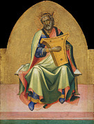 Famous Artists - David by Lorenzo Monaco