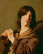 Famous Artists - David with His Sword by Salomon de Bray