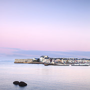 Boats Photos - Dawn at Concarneau Brittany France by Colin and Linda McKie