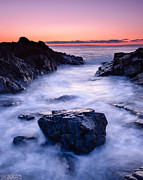 Marginal Way Prints - Dawn at Marginal Way Print by Michael Blanchette